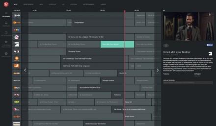 Online-Fernsehen: Wie bei Zattoo gibt es auch bei Magine das volle Programm nur gegen Bezahlung (Screenshot: Christian Lanzerath).