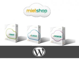 Mietshop und WordPress