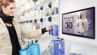 Samsung Small Signage im Shop (Bild: Samsung)