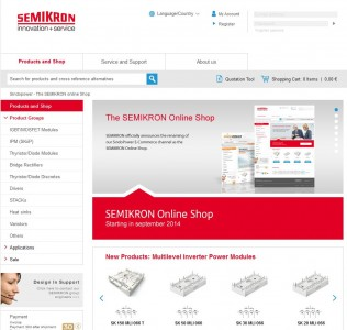 SEMIKROn Online-Shop (Screenshot: ITespresso)