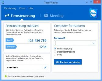 Teamviewer 10 bietet neben neuen Funktionen auch ein überarbeitetes Design (Bild: Teamviewer).