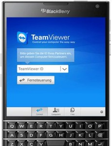 Preview der Teamviewer-Blackberry-App (Bild: Teamviewer)