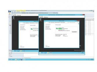 Wyse vWorkspace VM-Screens (Bild: Dell)