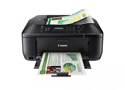 Multifunktionsgeräte bieten zwar auch eine Scan-Funktion, sind aber für hochwertiges Dokumenten-Management in Unternehmen nicht ideal. Das Bild zeigt den Canon Pixma 535. (Foto: Canon)