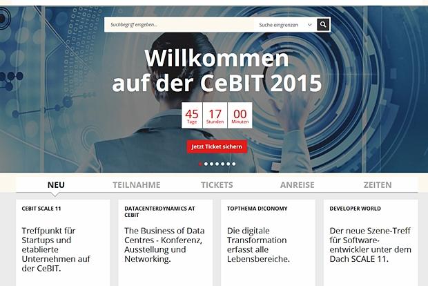 Auch die CeBIT 2015 widmet sich den Themen Industrie 4.0 und Internet der Dinge.