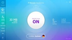 F-Secure_Freedome_Mainscreen (Screenshot: ITespresso)