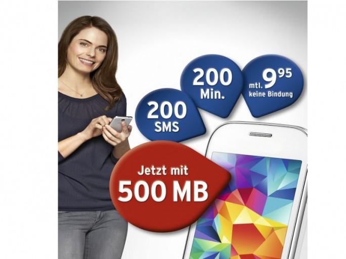 Tchibo mobil Extra-Datenvolumen (Bild: Tchibo)
