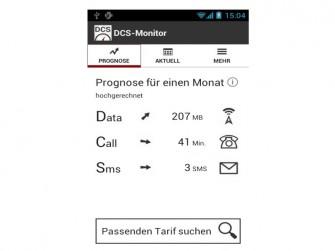 DCS Monitor Prrognose (Bild: Auxillis GmbH)