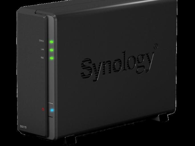 SynologyDS115 (Bild: Synology)