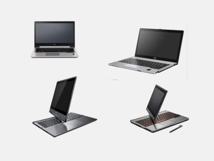 Lifebook-Notebooks (Bilder: Fujitsu)