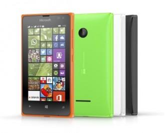 Das Dual-SIM-Smartphone Lumia 532 (Bild: Microsoft).