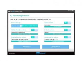 Passta Passwortgenerator (Bild: Ascomp)