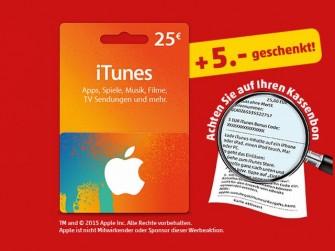 iTunes Karten bei Penny (Screenshot: ITespresso)
