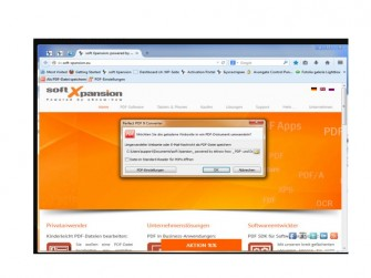 Perfect PDF Converter Screen (Bild: Soft XPansion)