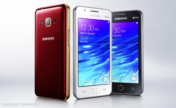 Samsung Z1 (Bild: Samsung)