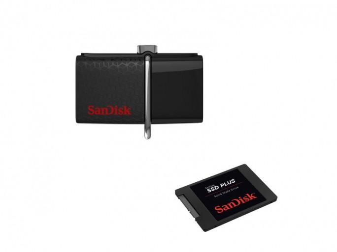 Sandisk zeigt Flash- und-SSD-Neuheiten auf der CES 2015 (Bilder: Sandisk)