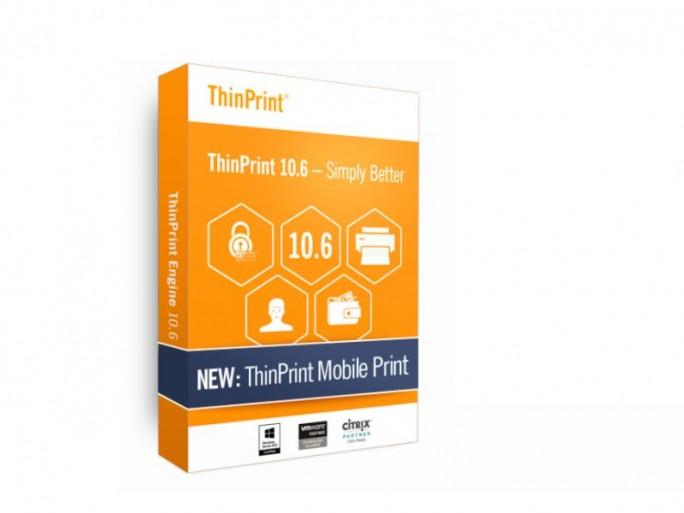 Thinprint 10.6 Packshot (Bild: Thinprint GnbH)