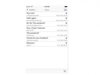 Tutanota-iOS-App (Bild: Tutao GmbH)