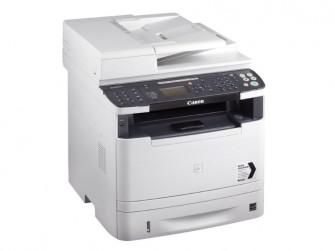 Canon i-Sensys MF6140dn: Das Laser-Multifunktionssystem für den Schwarz-Weiß-Druck bietet auch ein Fax und unterstützt sogar Air Print und Google Cloud Print (bild: Canon).