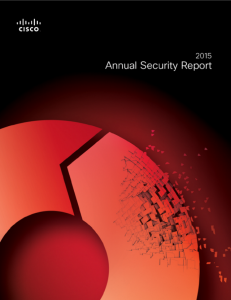 Cisco Annual Security Report 2015 (Screenshot: ITespresso)