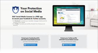 Eset-Social-Media-Scanner (Screenshot: Eset)