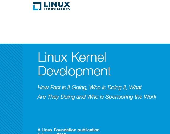 Linux-Report (Screenshot: ITespresso via Linux Foundation)