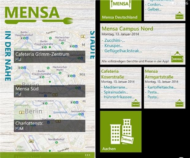 Mensa  (Screenshot: Mehmet Toprak)