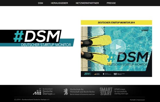 Der Deutsche Start-up-Monitor untersucht die Situation der Unternehmen aus der Gründerszene mithilfe einer Online-Befragung.