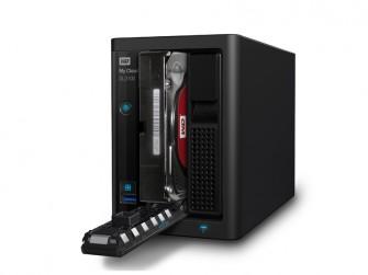 Das leere Gehäuse WD MyCloud DL2100 ist für 389 Euro erhältlich, mit Platten mit 4 ,8 respektive 12 TByte Speicherkapazität kostet es 599, 729 beziehungsweise 999 Euro (Bild: Western Digital).