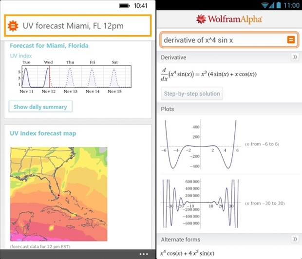 Wolfram Alpha (Screenshot: Mehmet Toprak)