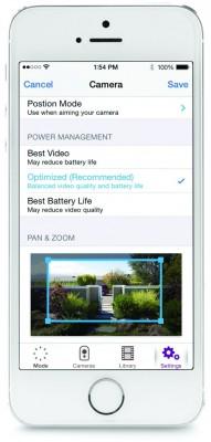 Mittels Apps für Android, iOS und Kindle-Tablets lassen sich Aufzeichnungen der Arlo-Kamera abrufen und Einstellungen festlegen (Bild: Netgear).