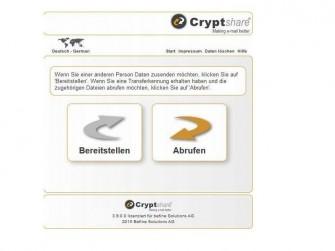Cryptshare (Bild: Befine AG)