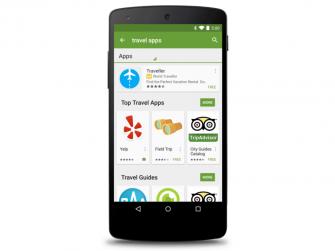 Google erprobt bezahlte Suchanzeigen im Play Store (Bild: Google).