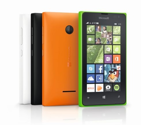 Lumia 435 (Bild: Microsoft)