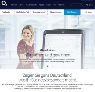 O2-Wettbewerb #MeinBusiness (Screenshot: ITespresso)
