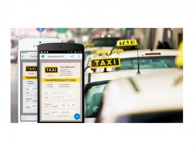 Paperscan2 Taxiquittung (Bild: Docuware)