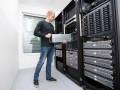 Server im Rechenzentrum (Bild: Shutterstock/Kjetil Kolbjornsrud)