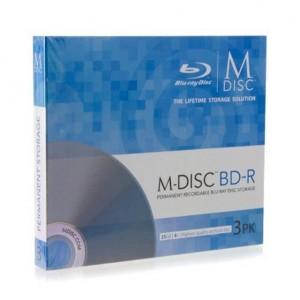 M-Disc-Blu-ray mit 25 GByte (Bild: Verbatim/Millenniata)