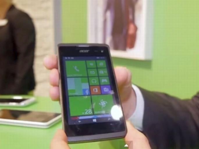 Acer Liquid M220 (Screenshot: ITespresso bei Gizmodo.de)