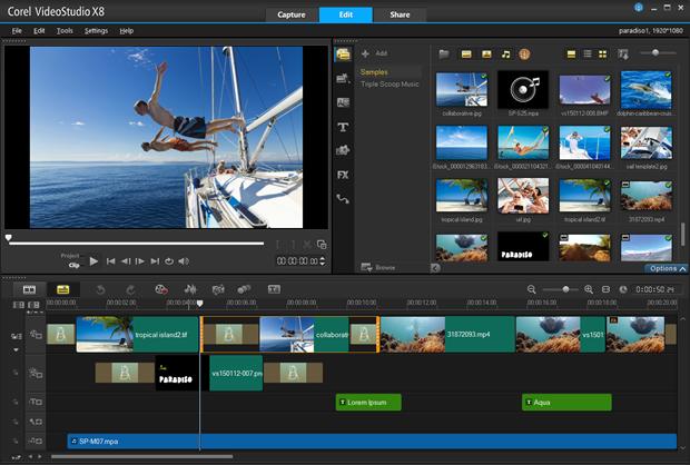 Corel Videostudio 8 (Bild: Corel)