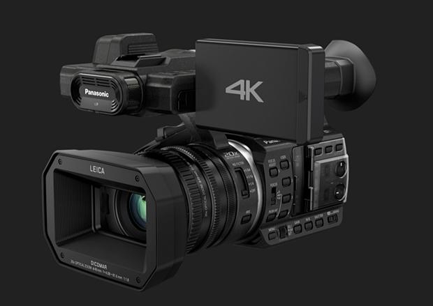 Panasonics 4K-Camcorder HC-X1000 kostet 3000 Euro. Für die Produktion von Imagevideos ist so ein Profigerät aber gar nicht nötig (Foto: Panasonic).