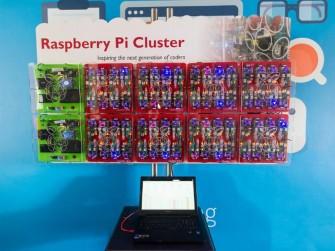 Raspberry Pi Bramble (Bild: GCHQ)