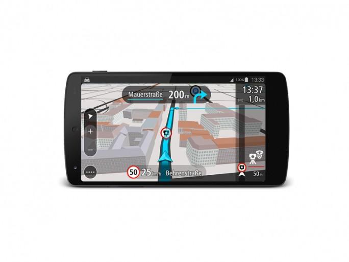 TomTom Go Mobile für Android (Bild: TomTom)
