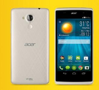 Das Acer Liquid Z500 ist online zu Preisen zwischen 110 und 119 Euro erhältlich (Bild: Acer).