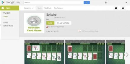 Eine der von Lookout entdeckten und von Google bereits aus dem Play Store entfernten Adware-Apps (Bild: Lookout).