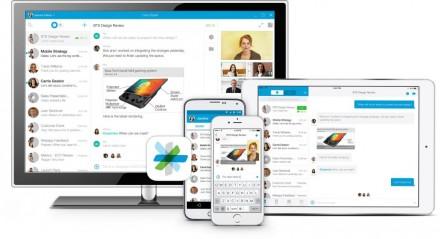 Mit Spark verspricht Cisco effizientere Zusammenarbeit als mit E-Mail und kürzere, sowie ergiebigere virtuelle Meetings (Bild: Cisco).