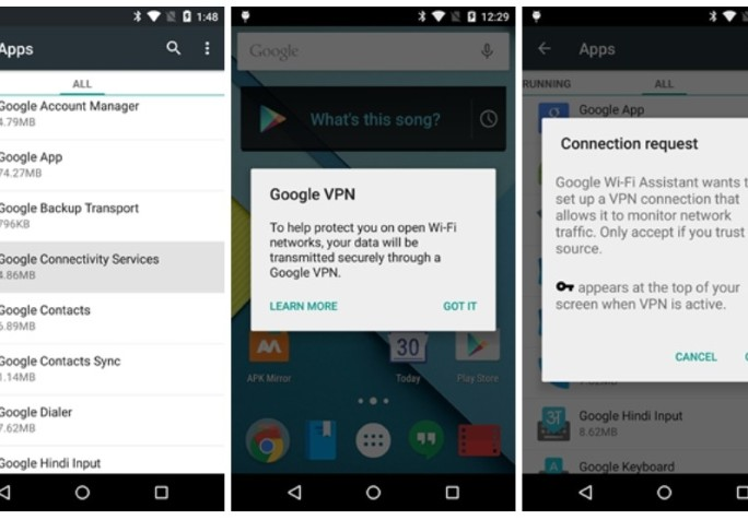 google_vpn (Screenshot: Android Police)