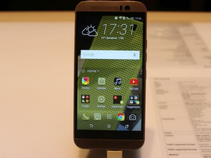 HTC One 9M (Bild: CNET)
