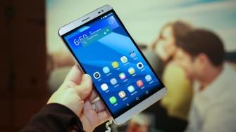 Huawei Mediapad x2 LTE (Bild: CNET.com)