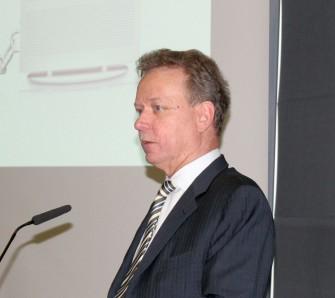 Johannes Nill, Vorstandssprecher von AVM hat in einer Pressekonferenz auf der CeBIT 2015 (Bild: ITespresso)